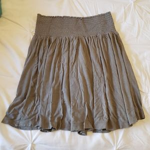 H&M Basic Flowy A Line Skirt